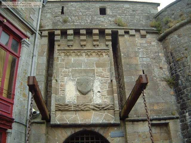 Le mont saint michel for Porte unie st michel